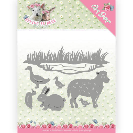 ADD10167 Spring animals - Spring is here