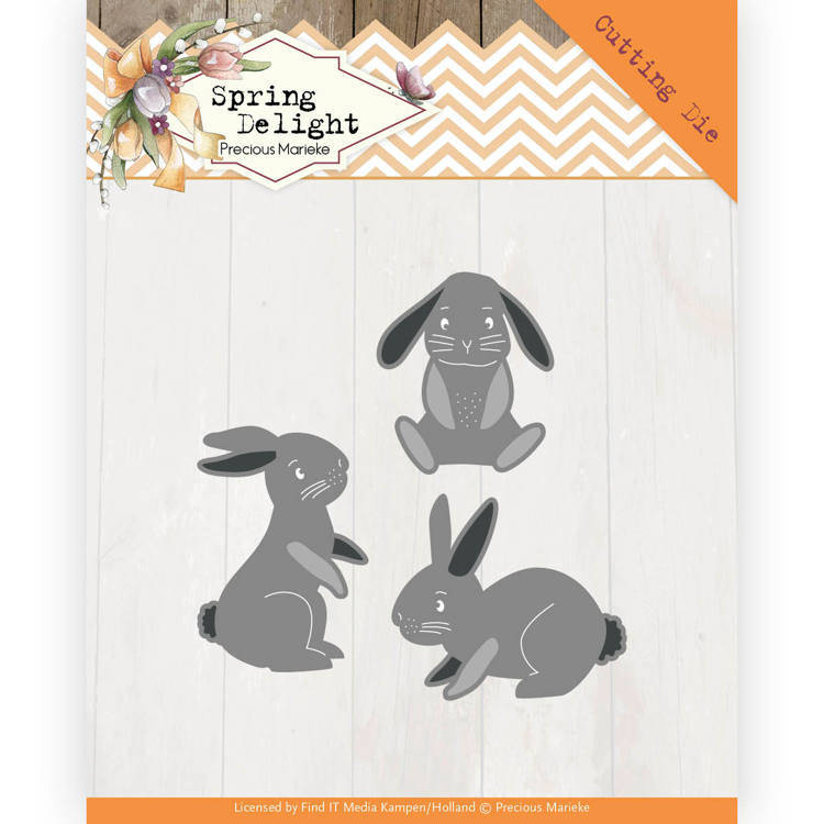 PM10175 Spring Bunnies - Spring Delight