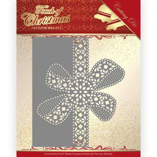 PM10183 Touch of Christmas - Christmas Bow Border