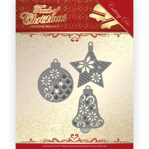PM10185 Touch of Christmas - Christmas Borders