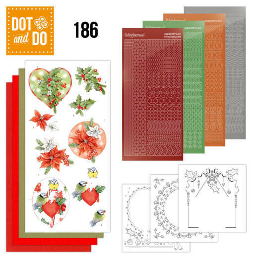 DODO186 Red Holly Berries