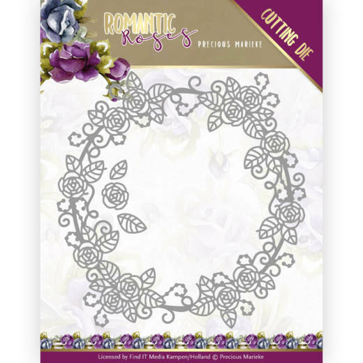 PM10195 Romantic Roses - Rose Circle