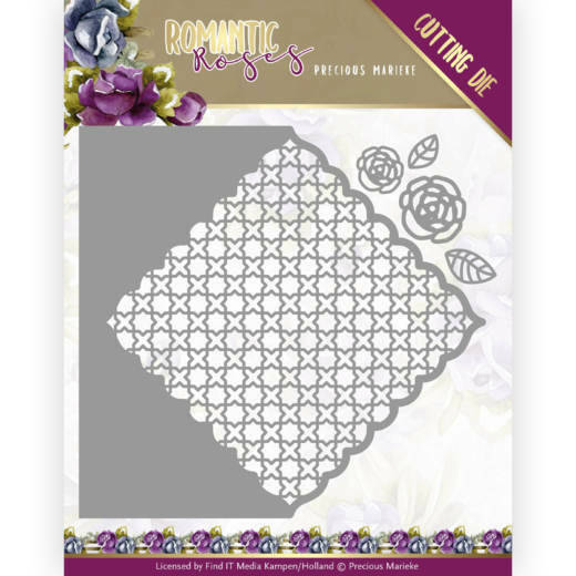 PM10196 Romantic Roses - Rose Fence Square
