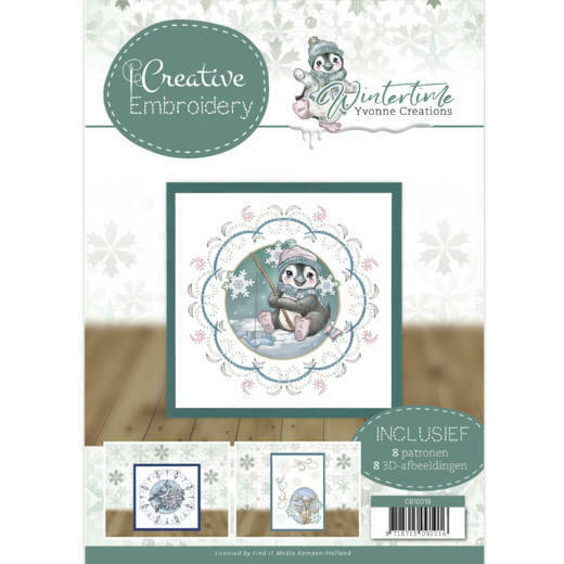 CB10019 Yvonne Creations - Winter Time