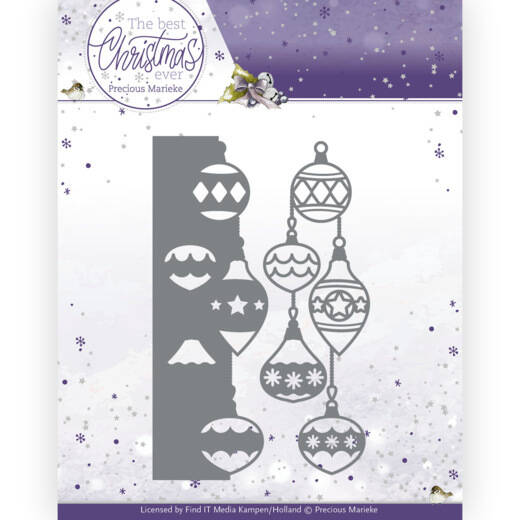 PM10209 The Best Christmas Ever - Christmas Baubles Border