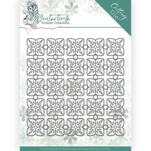 YCD10214 Winter Time - Snowflake Pattern