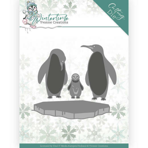 YCD10218 Winter Time - Penguins on Ice