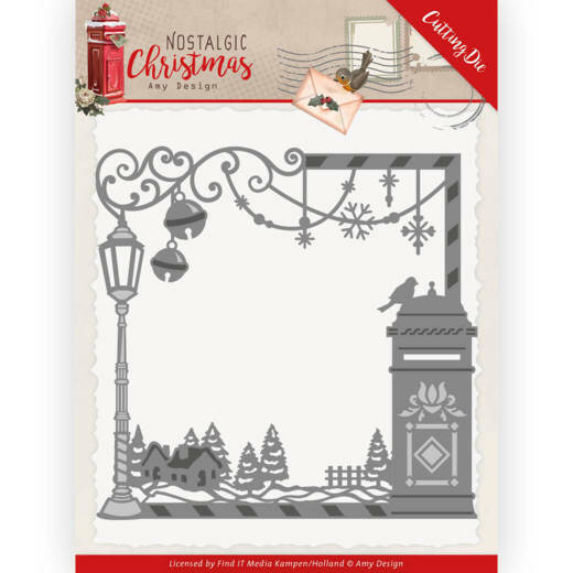 ADD10220 Nostalgic Christmas - Christmas Mail Box