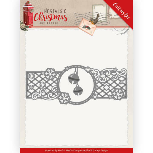 ADD10223 Nostalgic Christmas - Christmas Bells Border