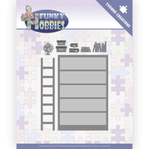 YCD10228 Funky Hobbies - Bookcase