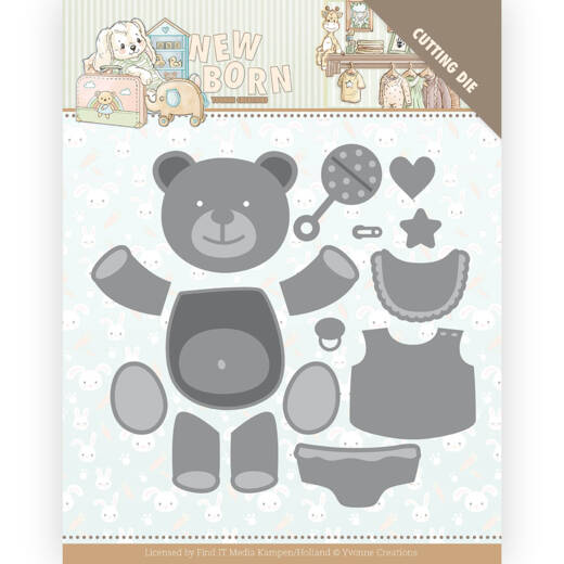 YCD10232 Newborn - Build Up Bear