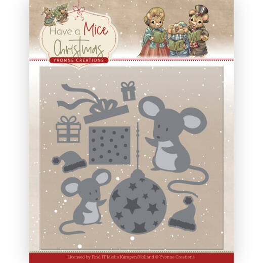 YCD10252 Have a Mice Christmas - Christmas Mouse Gift
