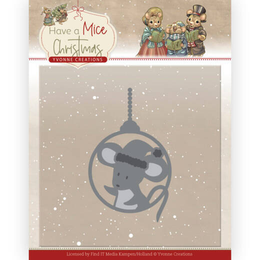 YCD10253 Have a Mice Christmas - Christmas Mouse Bauble