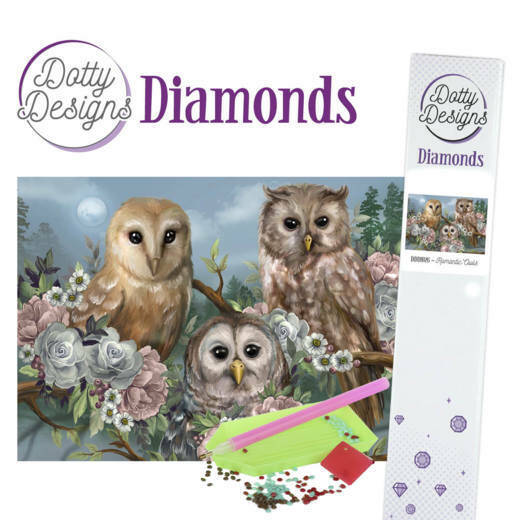 DDD1026 Romantic Owls