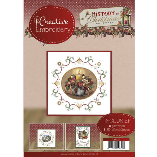 Creative Embroidery 27 History of Christmas - Amy Design