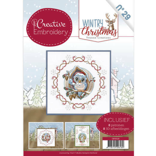 CB10029 Yvonne Creations - Wintry Christmas