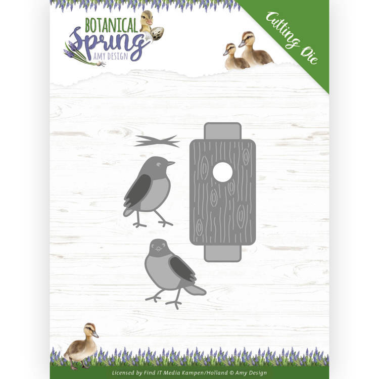 ADD10202 Busy Birds - Botanical Spring