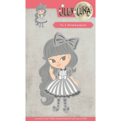 LL10003 Dressed Gorgeous - Lilly Luna