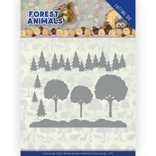 ADD10232 Forest Animals - In the Forrest