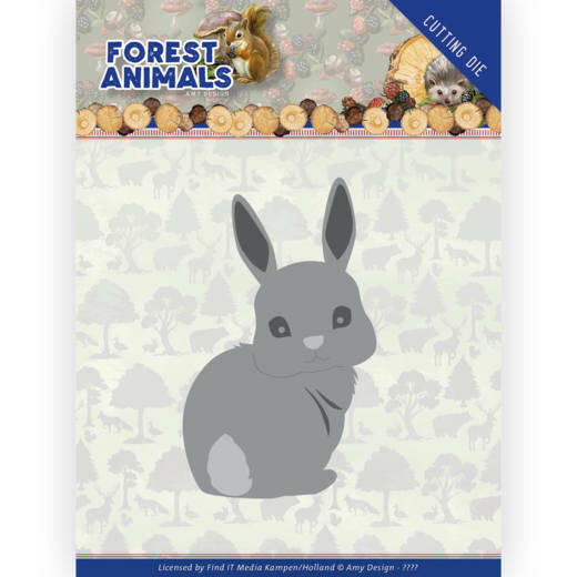 ADD10235 Forest Animals - Bunny