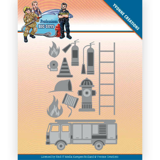 ycd10239 Big Guys Professions - Fire Department