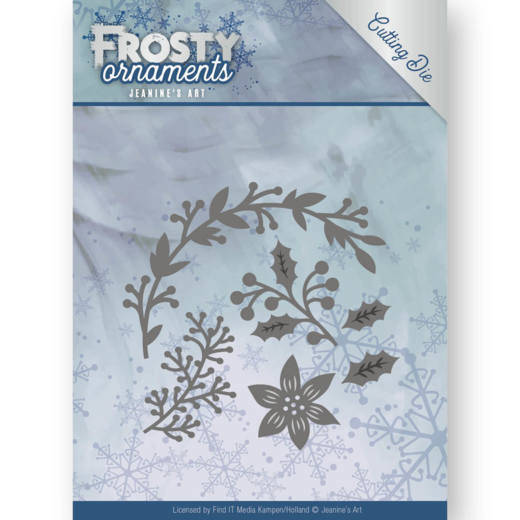 JAD10049 Christmas Branches - Frosty Elements