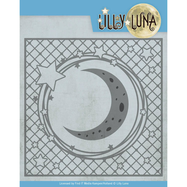 LL10005 Stars and Moon Frame - Lilly Luna