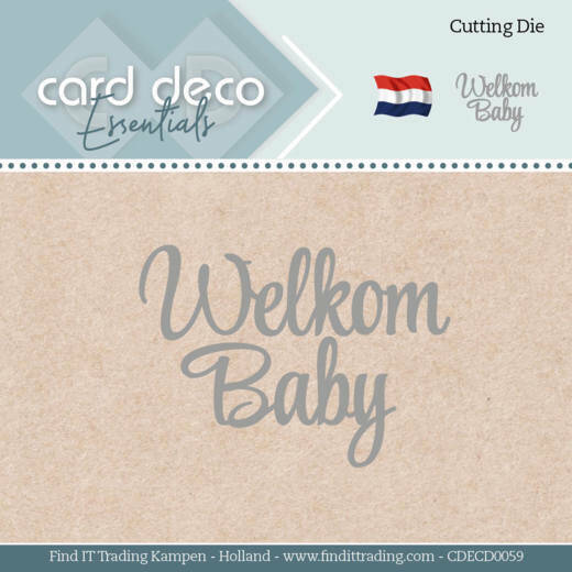 CDECD0059 Welcome Baby