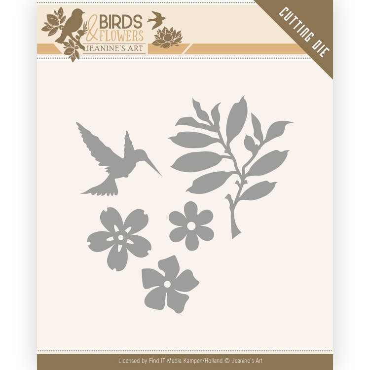 JAD10063 Birds Follage - Birds and Flowers