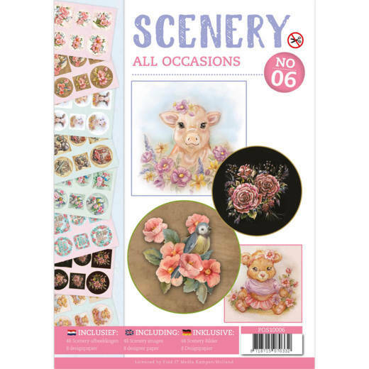 POS10006 All Occasions - Push Out boek Scenery 6