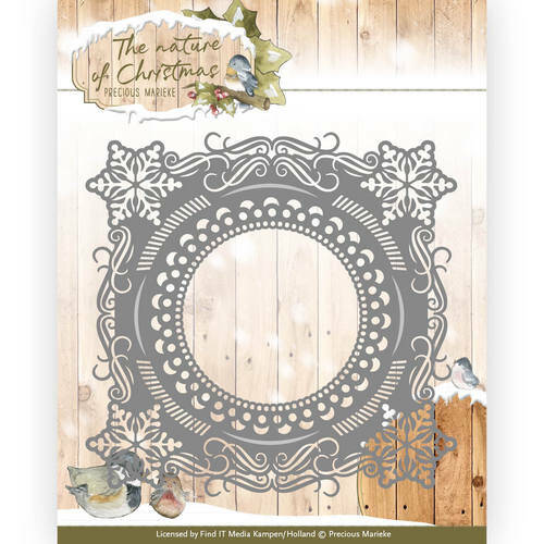 PM10097 The nature of Christmas - Christmas Snowflake Frame