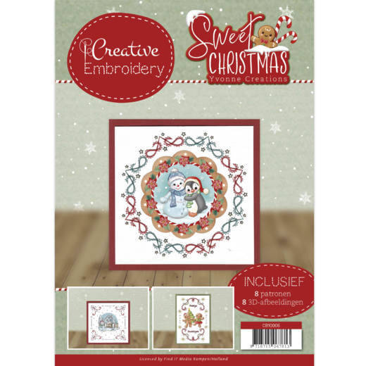cb10006 Creative Embroidery 6 - Yvonne Creations - Sweet Christmas
