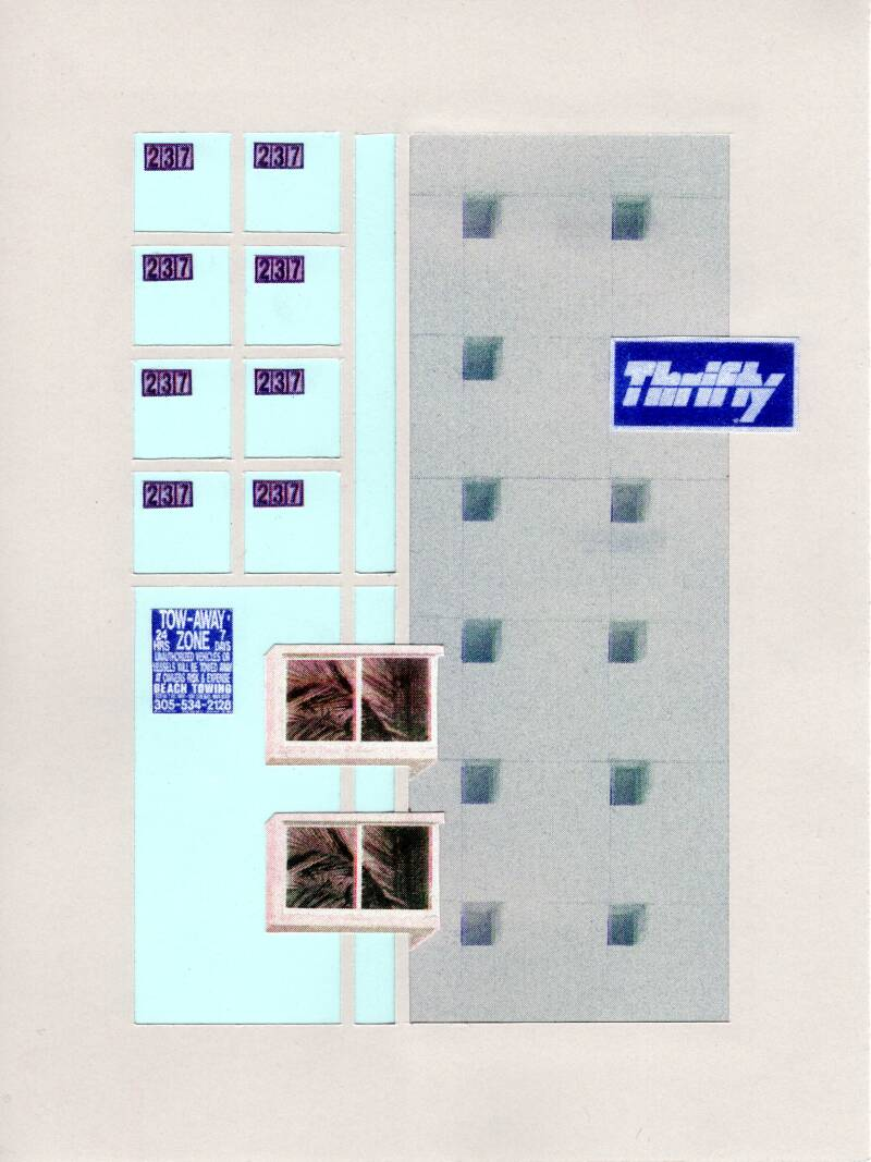 USA series - collage - Thrifty