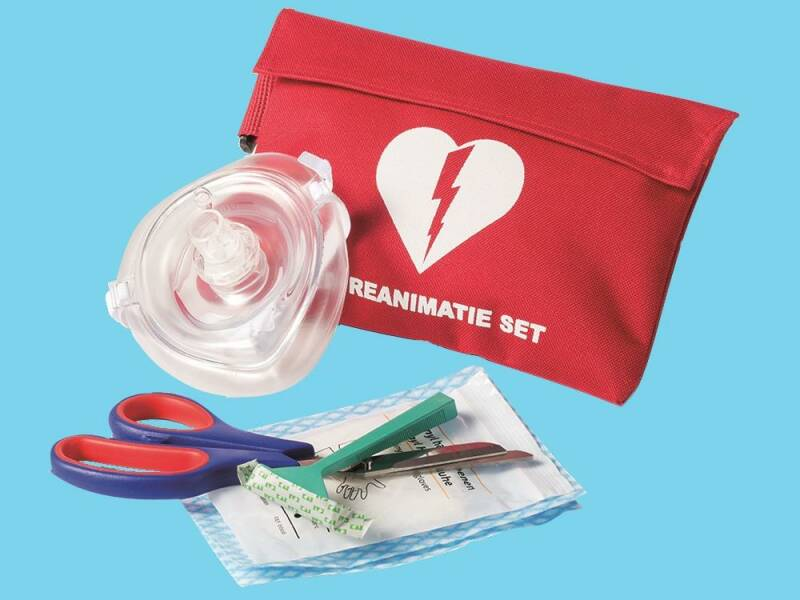 AED reanimatie safe set