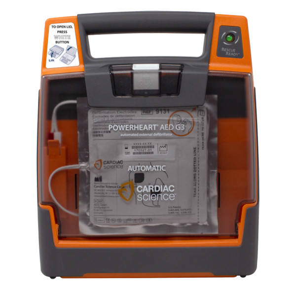 Cardiac Science G3 Elite AED vol automaat