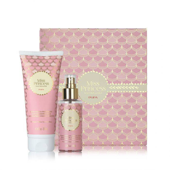 Pupa Miss Princess Kit Shower Milk + Scented Water