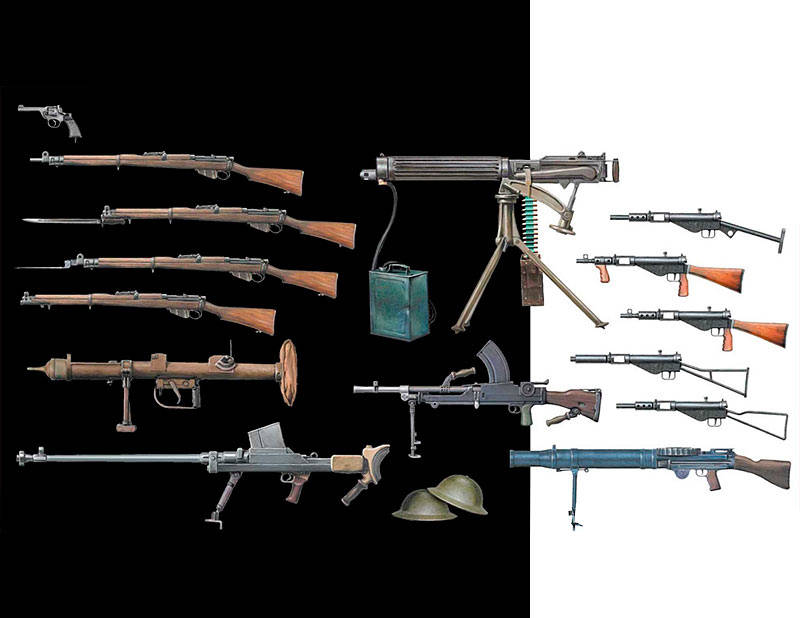 British Infantry Weapons WW2/MB35109