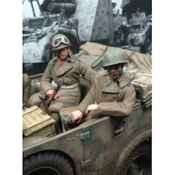 US Soldiers Seated #2 MK35 F119