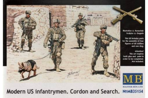 US Infantrymen 'Cordon and Search' /MB35154