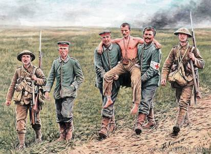 WW I Battle of Somme 1916/MB35158