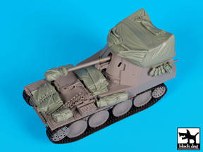 Marder III w/Canvas Acc. Set-BLAD35160