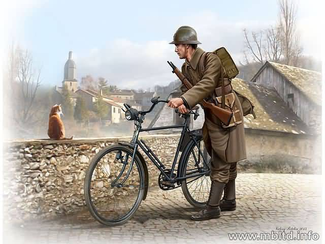 French Soldier WW2/MB35173