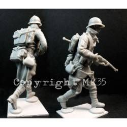 French Soldier in Action #1 MK35 F241