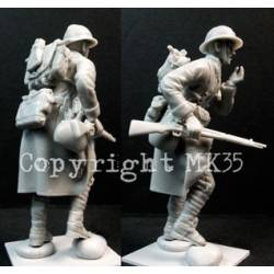 French Soldier in Action #4 MK35 F244