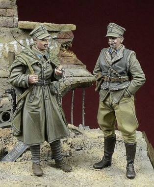 Polish LWP Soldiers, Berlin 1945D-DAY 35048