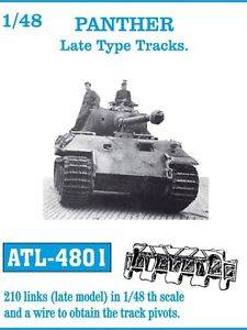 ATL4801 Panther Tracks 1/48 Scale