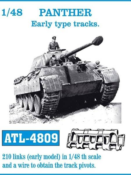 ATL4809 Panther Early Tracks Scale 1/48