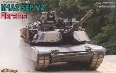 US M1A2 Sep V2 Abrams DRA3556