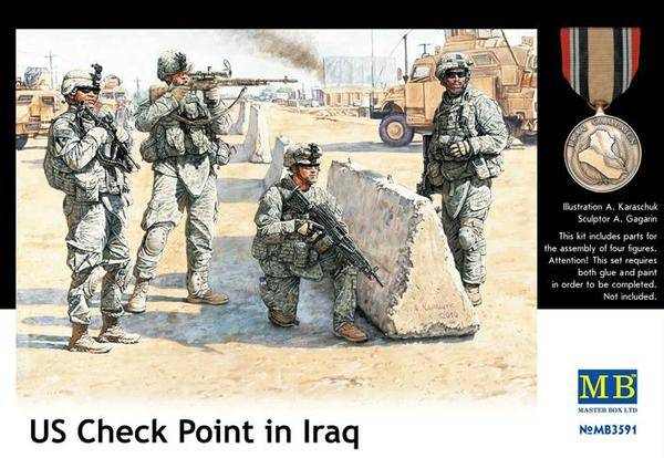 US Check Point in Iraq /MB3591