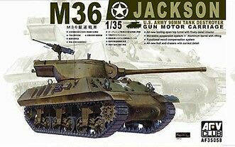 US M-36 Tank Destroyer -AFV35058